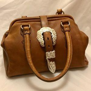 Vintage - 'Country Girl' - Leather Handbag